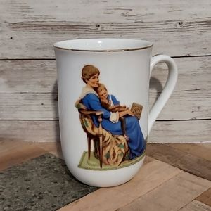 Norman Rockwell Vintage Collectible Tea Cup